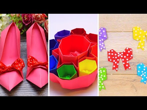 Paper Crafts Ideas How To Make Paper Things