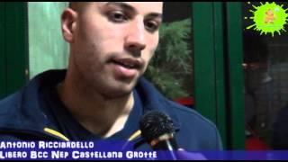 03-03-2013: Intervista ad Antonio Ricciardello nel post NewMater-Ravenna 3-1