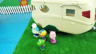 포비 캠핑카에서의 최대 위기 ❤ 뽀로로 장난감 애니 ❤ Pororo Toy Video
