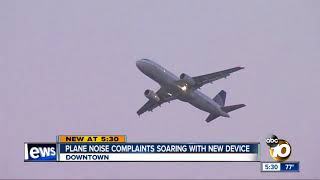 Airplane noise complaints soaring with new device