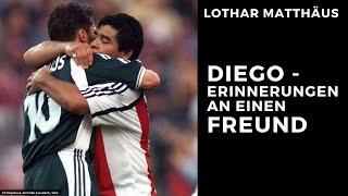 Erinnerungen an einen Freund: Dięgo Maradona | Lothar Matthäus (english subtitles)