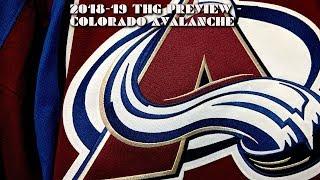 2018-19 Colorado Avalanche Season Preview