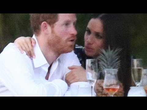 Prince Harry, Meghan Markle Attend Friend's Wedding Together