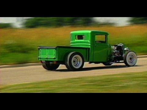 We go for a ride in a 1934 Ford Hot Rod Pick Up Truck ...