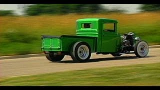 We go for a ride in a 1934 Ford Hot Rod Pick Up Truck