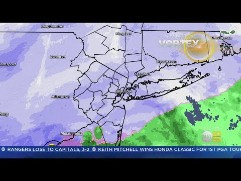 New York Weather: WLNY 9 p.m. Forecast