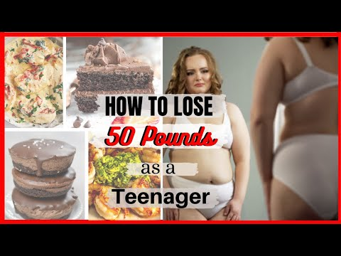 How I Lost 55 pounds Fast As A Teenage GIRL- My 55lbs Weight Loss Journey!