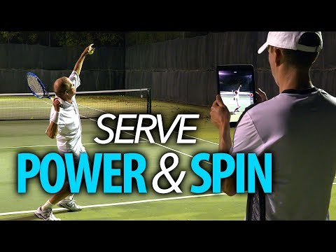 Serve Technique for POWER and SPIN (Move 1 of 2)