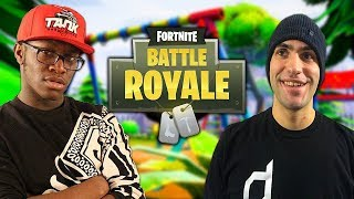 CARRYING COMEDYSHORTSGAMER! Funny Moments with Deji  - Fortnite Battle Royale