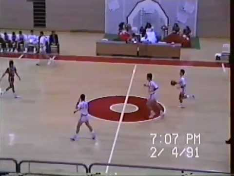 1990-91 Stilwell Indians at Fort Gibson Tigers - Boys Basketball