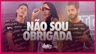 Nao Sou Obrigada - MC Pocahontas FitDance TV (Coreografia Oficial)