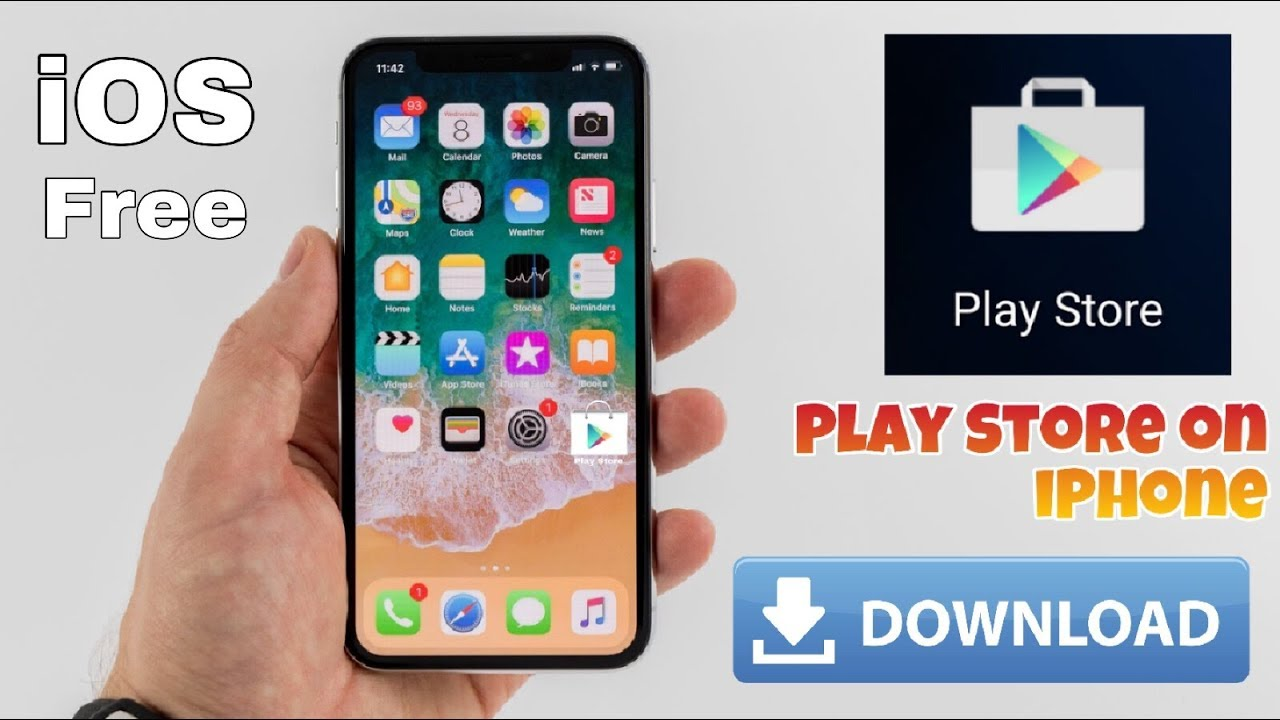 How to install Play Store and using on iPhone 2019