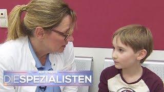 Erik (6) alleine in der Klinik: Warum redet er nicht?   Birgit Maas   Die Spezialisten   SAT.1 TV