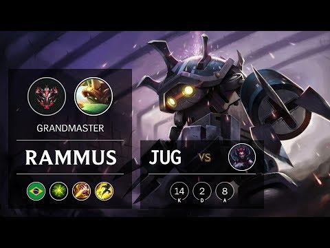 Rammus Jungle vs Elise - BR Grandmaster Patch 10.2