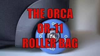 Orca OR-11 Travel Roller Bag Review! SteveHuffPhoto.com