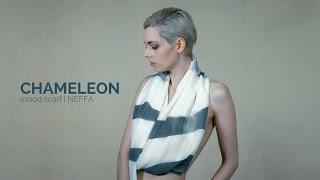 Chameleon mood scarf