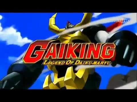 Gaiking - Legend of Daiku Maryu - Sigla italiana aperutra [Silvio Pozzoli]