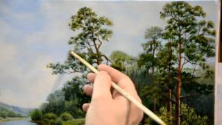 Занятие в школе живописи #24