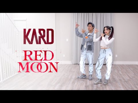 KARD - 'Red Moon' Dance Cover | Ellen And Brian