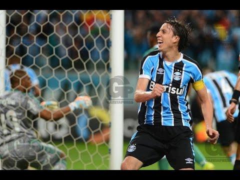 Grêmio 2 x 1 Palmeiras - GOLS MELHORES MOMENTOS - Copa do Brasil - 29/09/2016