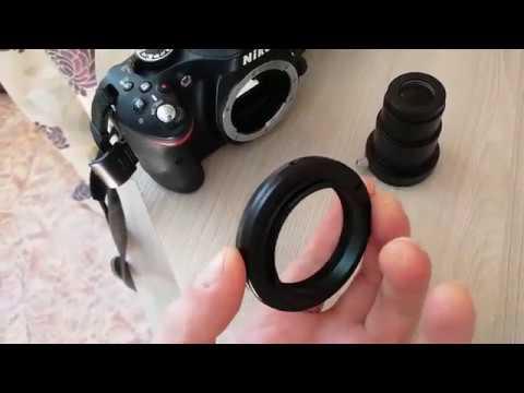 Фото-видео съемка через телескоп (Т-кольцо + зеркалка). Краткий обзор