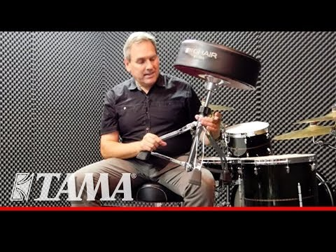 TAMA New 1st Chair Drum Throne -YOUR BEST PERFORMANCE STARTS AT THE CORE.-