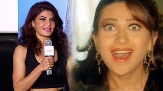 Jacqueline Fernnadez REVEALS On Playing Karisma Kapoor In Judwaa 2 | Trailer Launch