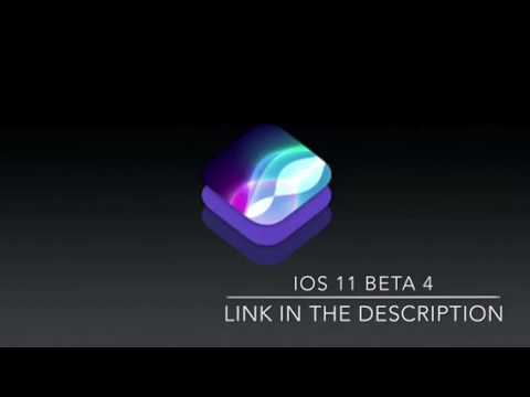iOS 11 beta 4 free download