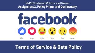 Net303 | Facebook Terms of Service & Data Policy Primer
