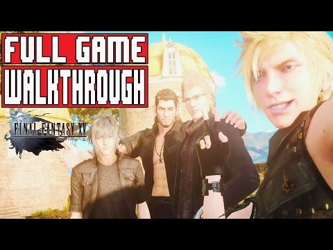 FINAL FANTASY 15 Gameplay Walkthrough Part 1 FULL GAME (PS4 Pro) – No Commentary (Final Fantasy XV)