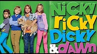 nicky ricky dicky & dawn get sporty-er cast