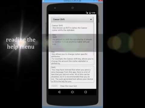 Official Message Coder app