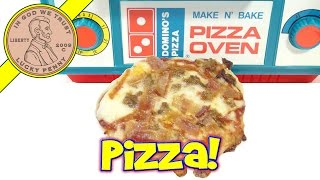 Domino's Make N' Bake Pizza Oven -  Meat Lover's Pizza!