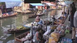 7 le marché flottant de Damnoen Saduak au Sud de Bangkok