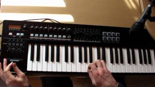 Sorrow intro | A-800PRO MIDI controller demo [ HD ]