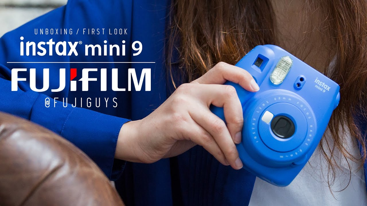 le plus fiable ordre volume grand Fuji Guys - FUJIFILM Instax Mini 9 - Unboxing and First Look