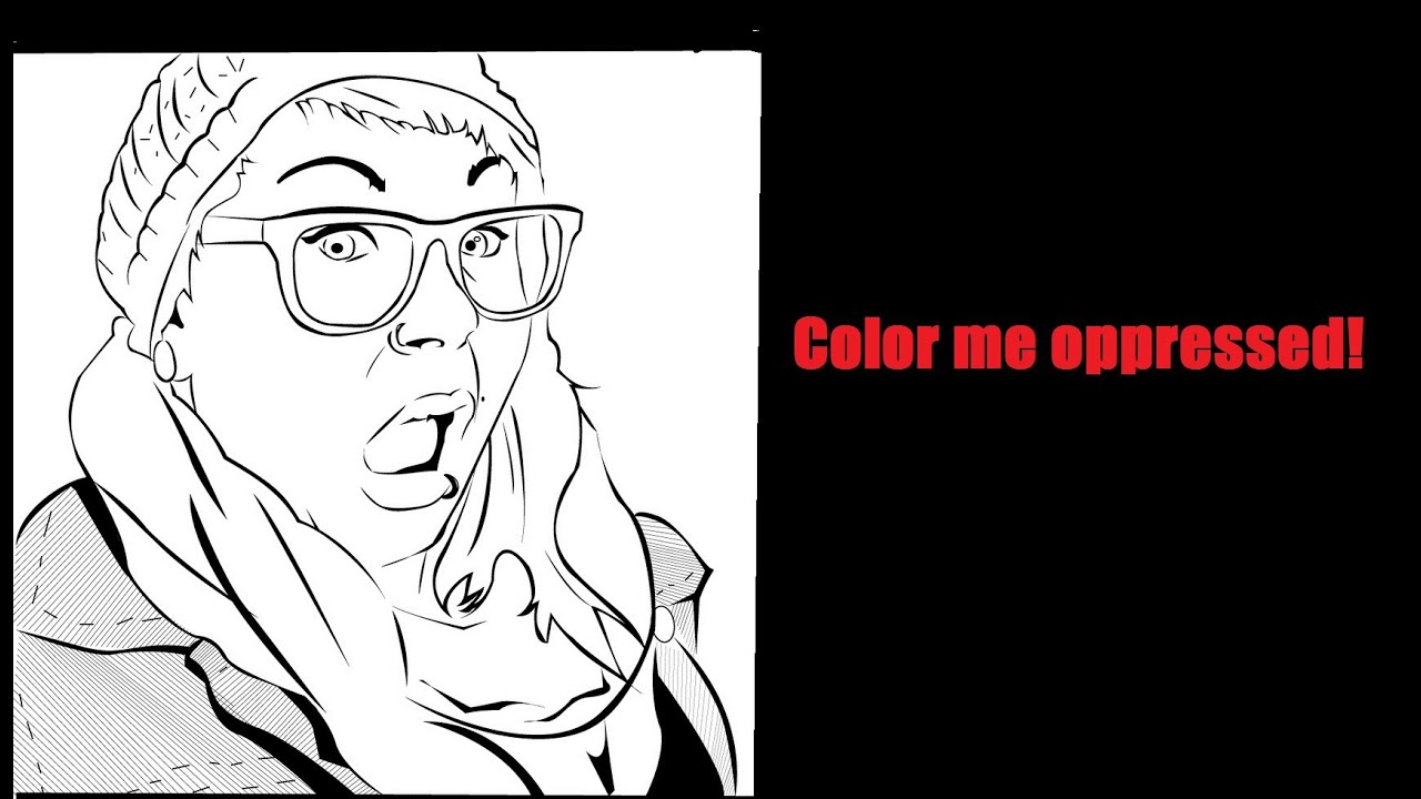 badass printable coloring pages - a badass feminist coloring book youtube