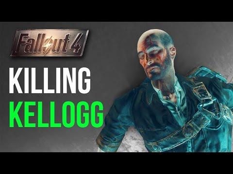 Fallout 4: Killing Kellogg BEFORE he Kills Your Spouse