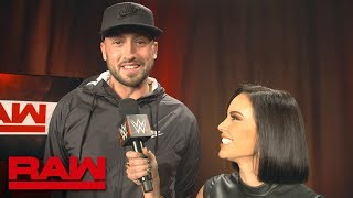 The inner fan of Patriots' quarterback Brian Hoyer emerges on Raw: Raw Exclusive, Oct. 22, 2018