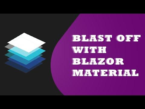 Blazor with Material Design Framework - MatBlazor (Part - 1) thumbnail