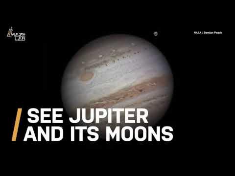 Jupiter And Moons 2019 – Umorismo Video