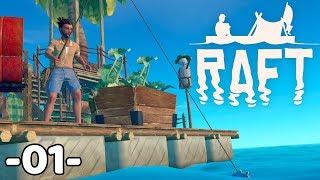 Nowy rozdział! RAFT First Chapter #1 | PC | PL | Gameplay | Zagrajmy w | w/ Undecided