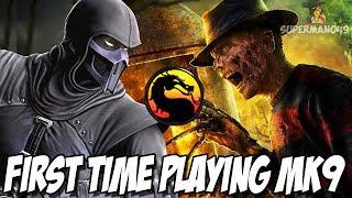 NOOB SAIBOT, CYRAX 100% DAMAGE & FREDDY KRUEGER! - MK9  Noob Saibot, Freddy Krueger Gameplay