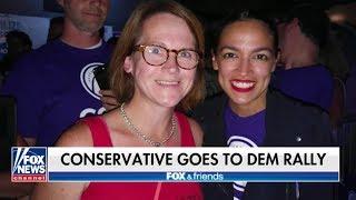 Conservative Journalist Almost Got Red Pilled by Alexandria Ocasio Cortez