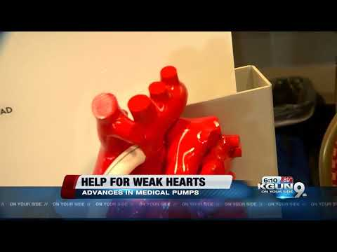 Transplant shortage means more living with implanted heart pumps