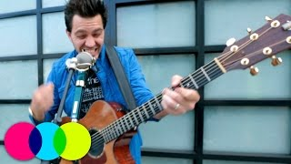 "Andy Grammer performing ""Sunday Morning"" 