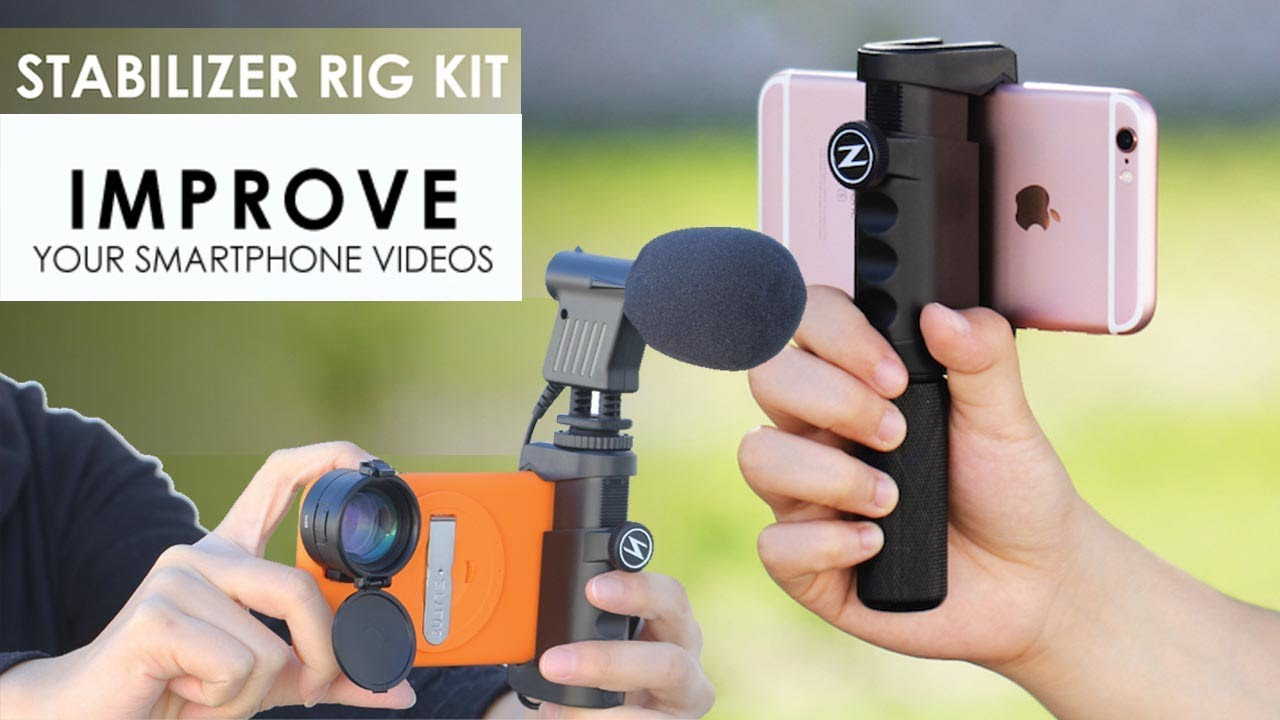 uk availability 82877 9092b Best iPhone Stabilizer | Ztylus Stabilizer Rig Kit - Great Tool For Taking  Stable Videos