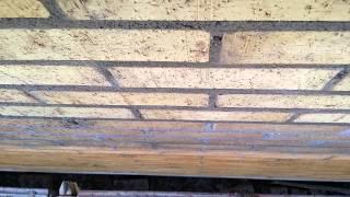 Кладка кирпича (вентилируемый фасад под штукатурку(Это видео из цикла блогов про кладку кирпича по финской системе., 2015-08-14T18:21:49.000Z)