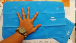 Naturehike Inflatable Pillow - Unboxing Video
