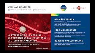 Webinar de lanzamiento: Panel de hemocultivos positivos BCID2 FilmArray, Colombia 🇨🇴